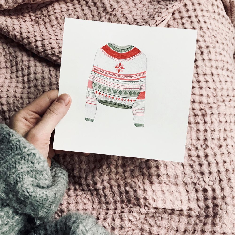 Christmas patterns - image 1 - student project