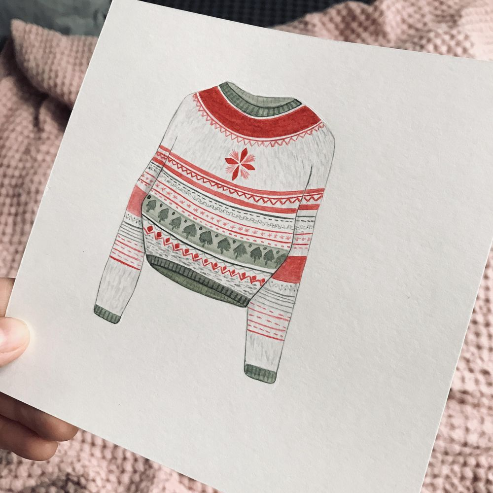 Christmas patterns - image 2 - student project