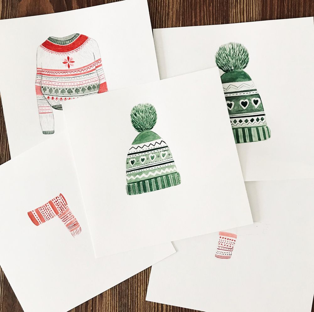 Christmas patterns - image 3 - student project