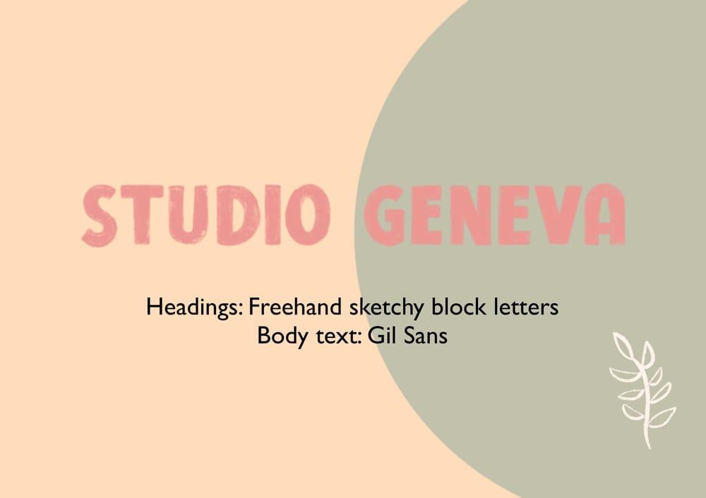 Studio Geneva - creative, illustration, surface design - image 2 - student project