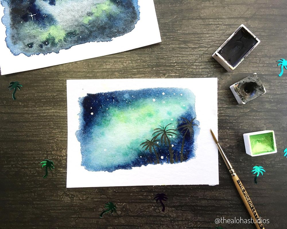 Tropical Milky way galaxy - image 1 - student project