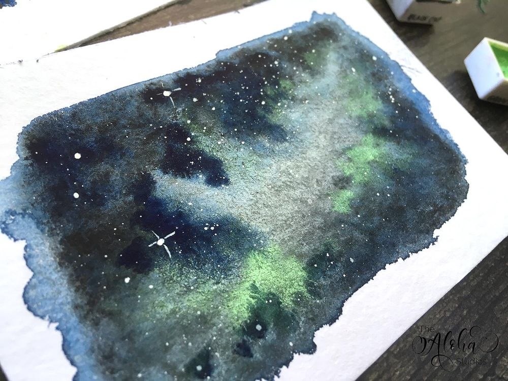 Tropical Milky way galaxy - image 2 - student project