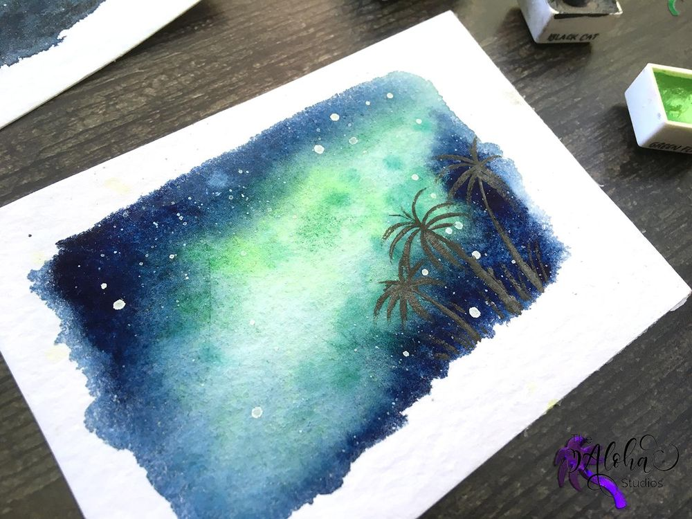 Tropical Milky way galaxy - image 3 - student project