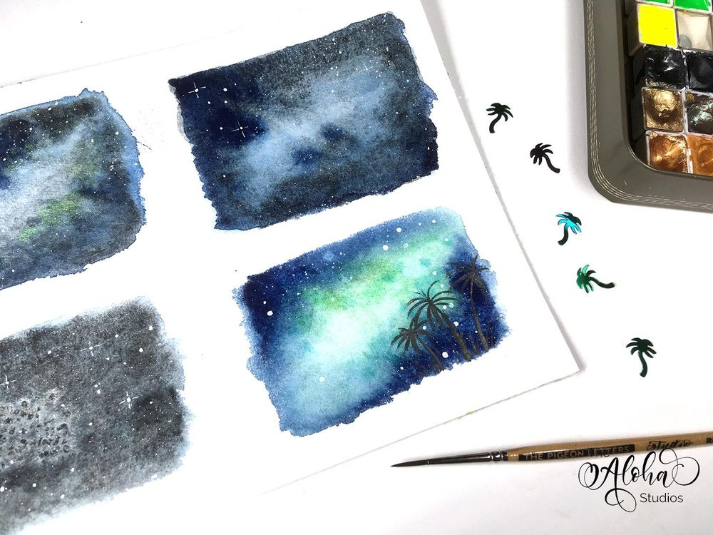 Tropical Milky way galaxy - image 4 - student project