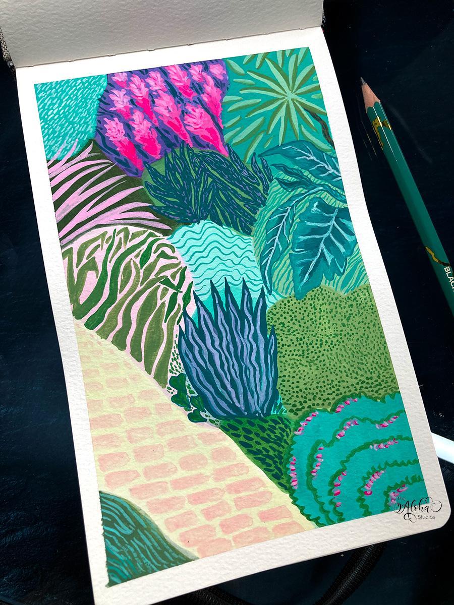 Hawaiian jungle kitty - image 2 - student project