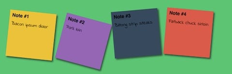 Web Special Effects :: Sticky Notes - image 1 - student project