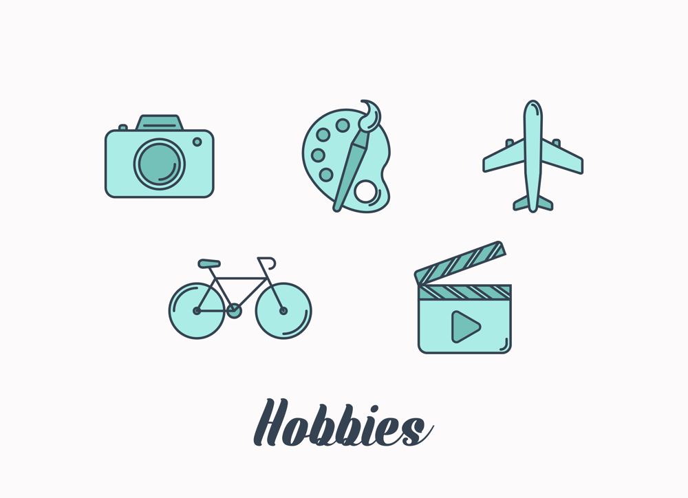 My hobbies icons - image 1 - student project