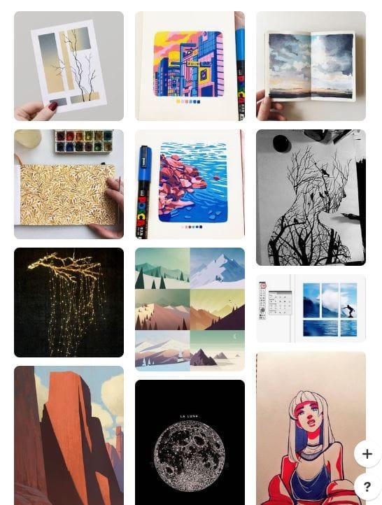 Graphic Design Scavenger Hunt - image 2 - student project