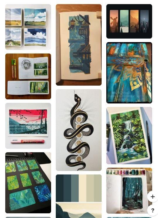 Graphic Design Scavenger Hunt - image 3 - student project