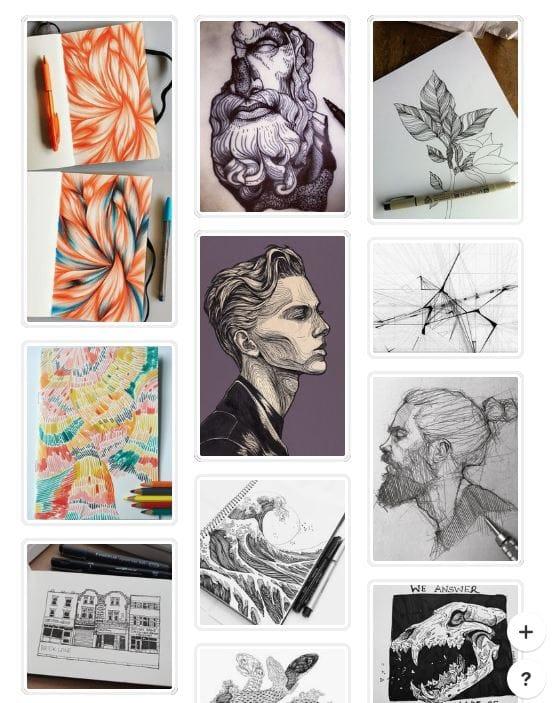 Graphic Design Scavenger Hunt - image 1 - student project