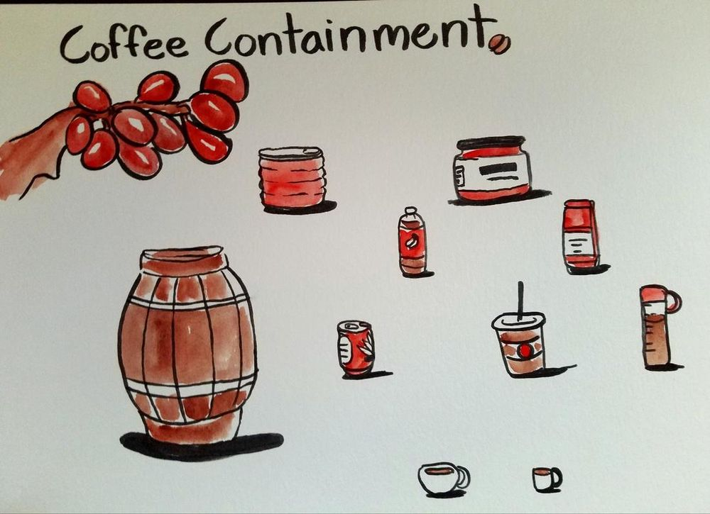Coffee Containment - image 1 - student project
