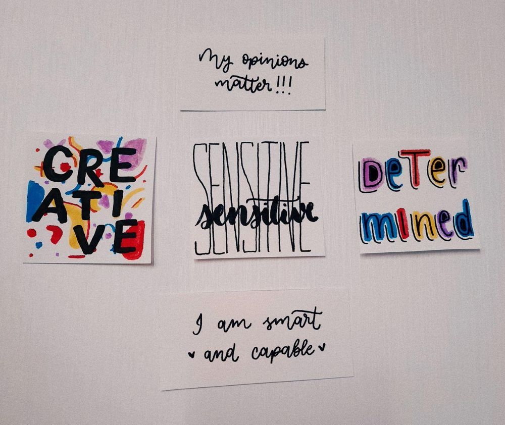 affirmation wall - image 1 - student project