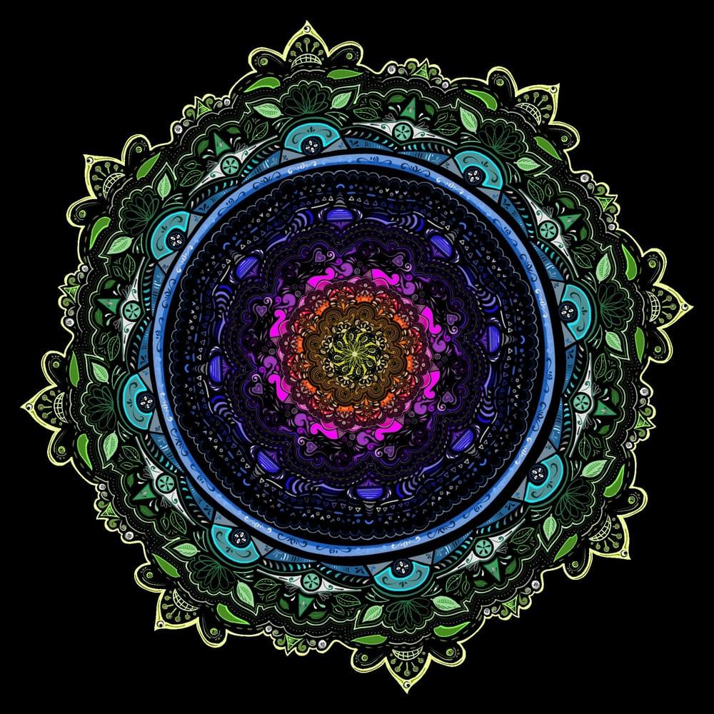 Mandalas Mandalas Mandalas! - image 2 - student project