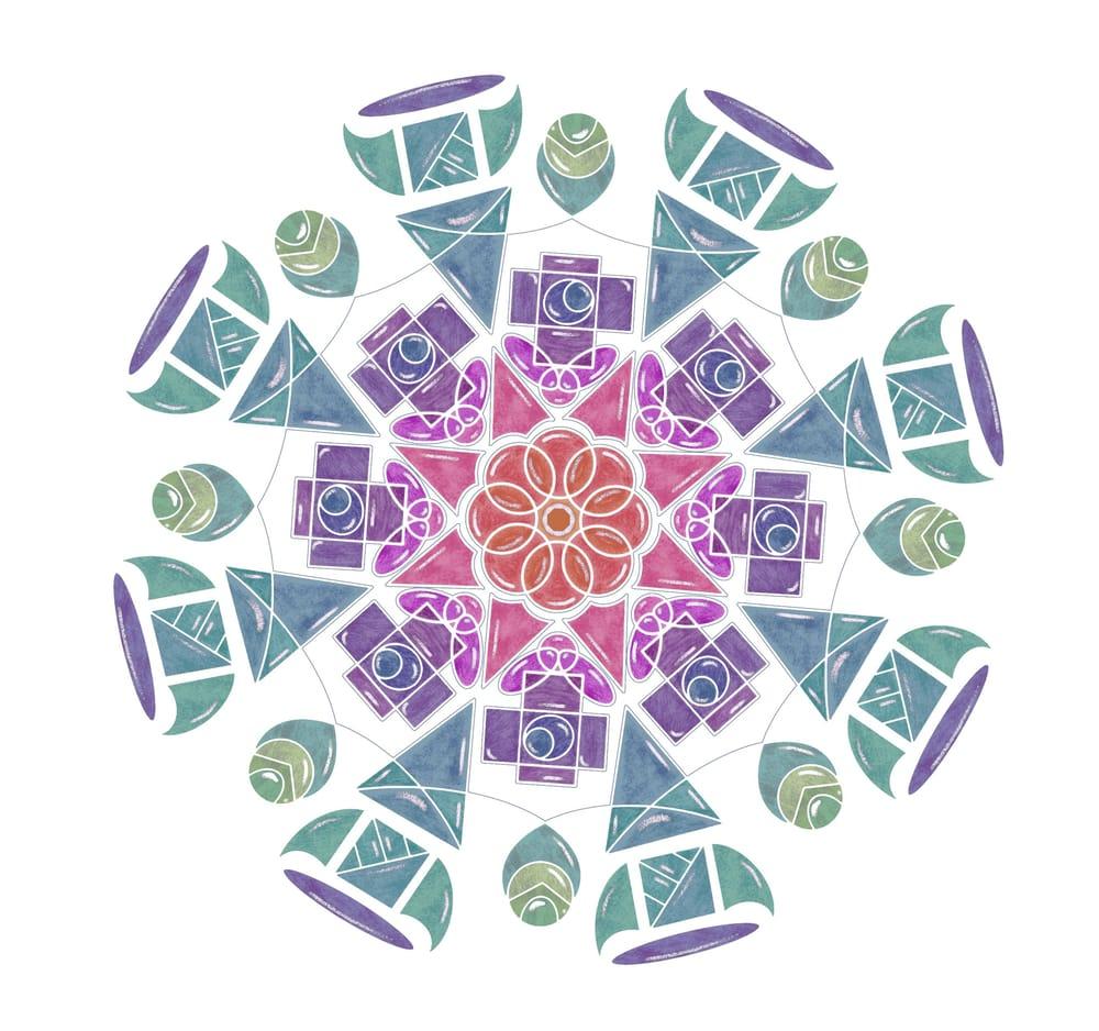 Mandalas Mandalas Mandalas! - image 3 - student project