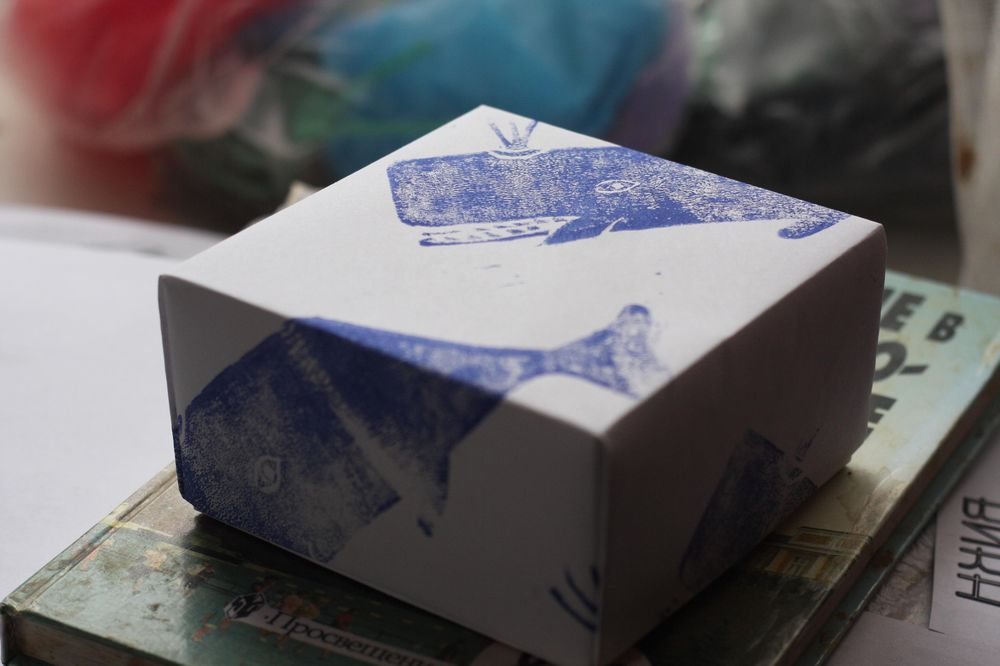 hand-made patterns and origami boxes - image 4 - student project