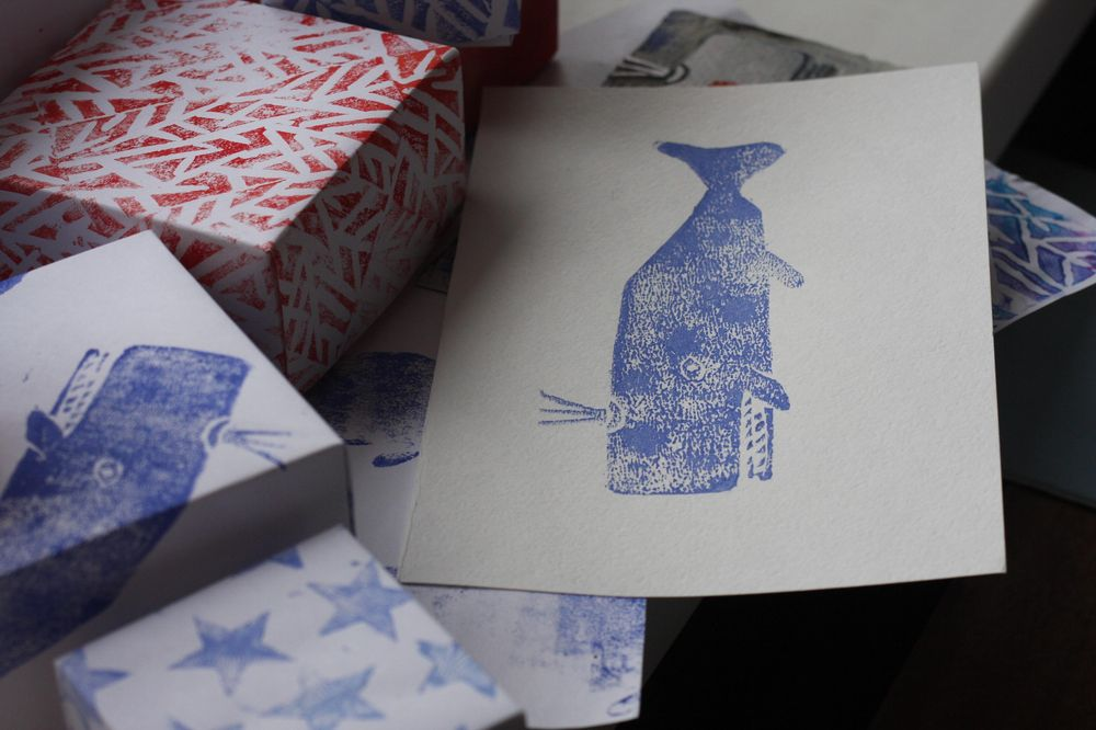 hand-made patterns and origami boxes - image 3 - student project