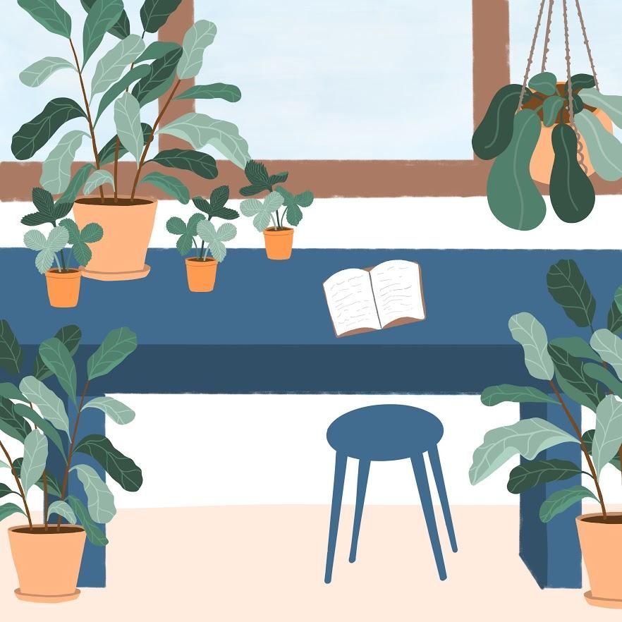 Plant Illustrations in Procreate - image 1 - student project