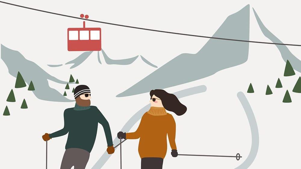 Christmas on skis - image 1 - student project