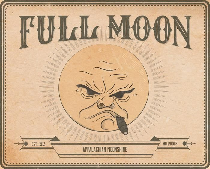 Full Moon Appalachian Moonshine - image 1 - student project