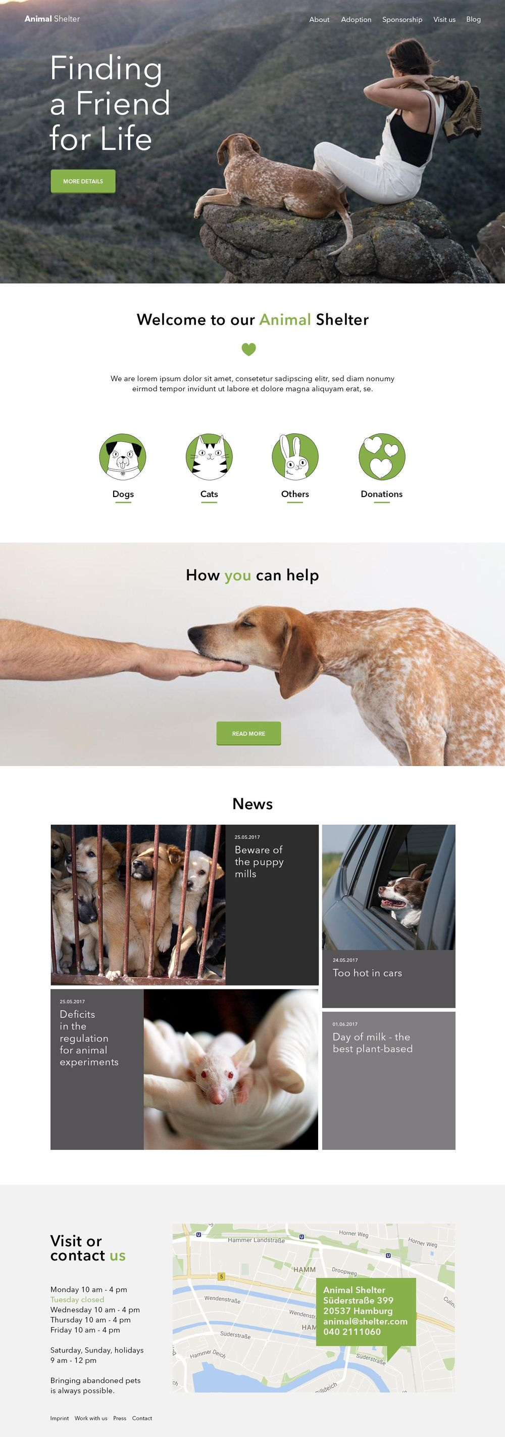 Animal Shelter - image 1 - student project