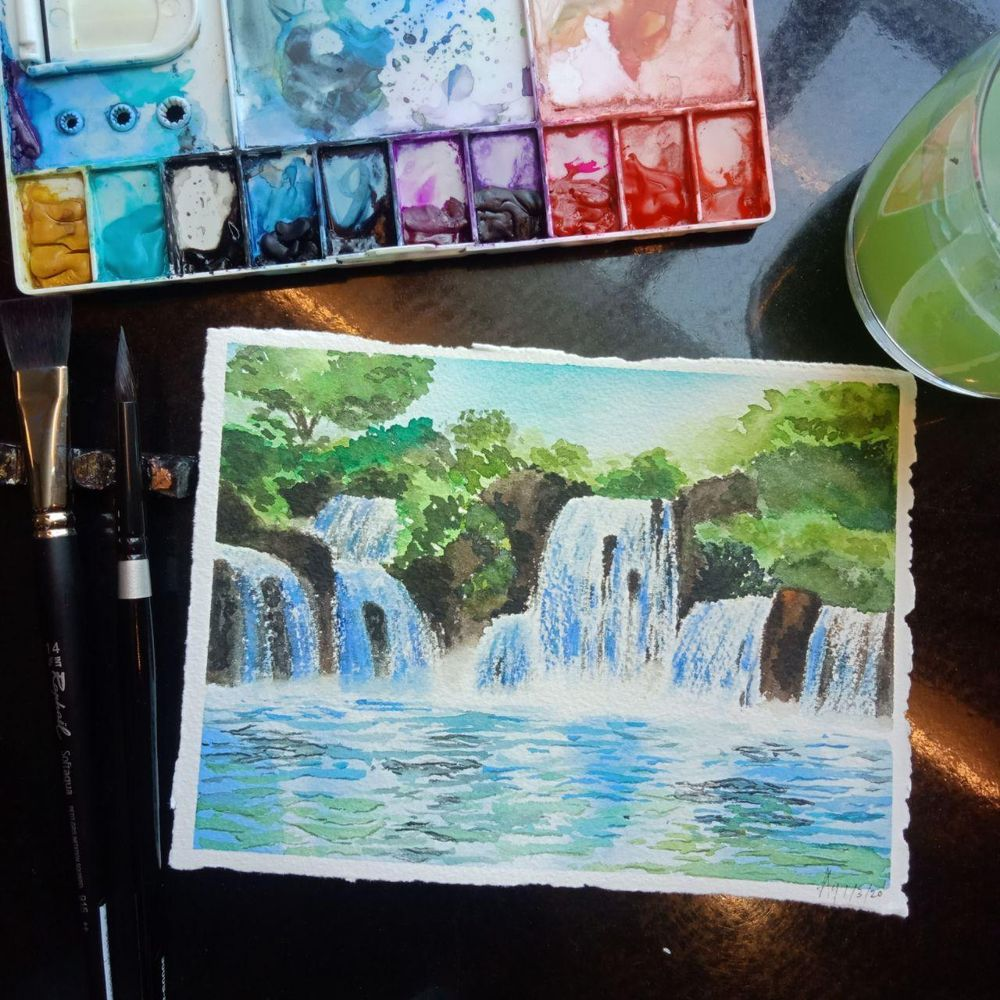 My First Waterfall in Love - image 1 - student project