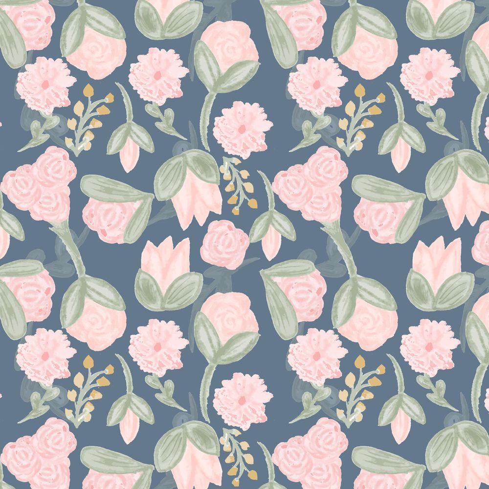 Watercolor Flower Pattern - image 9 - student project