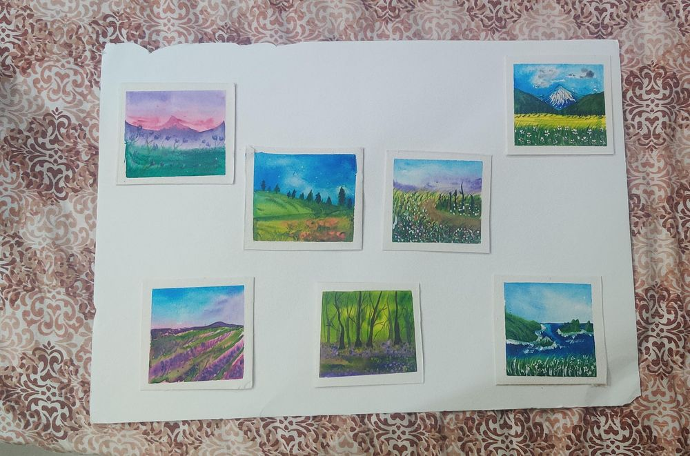 30day watercolor challenge: Let's Celebrate world watercolor Month - image 2 - student project