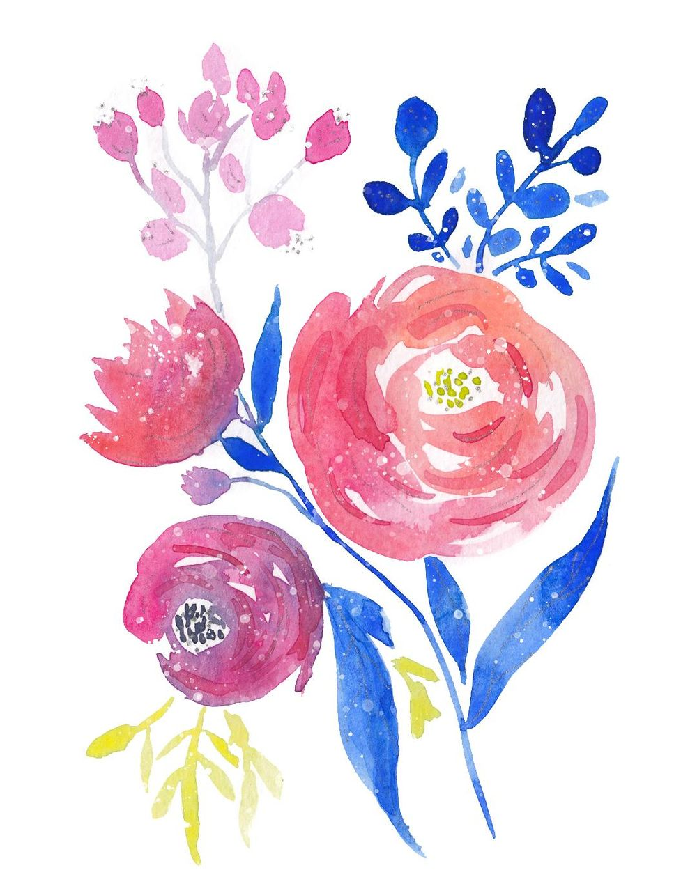 Watercolor Cards - image 1 - student project