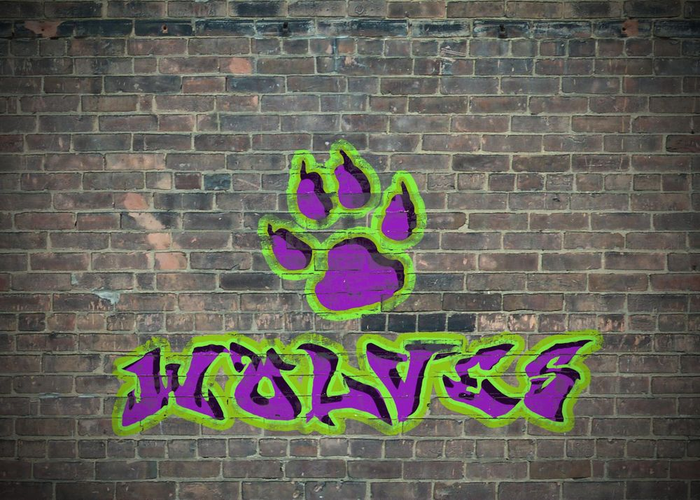 Wolves Graffiti  - image 1 - student project