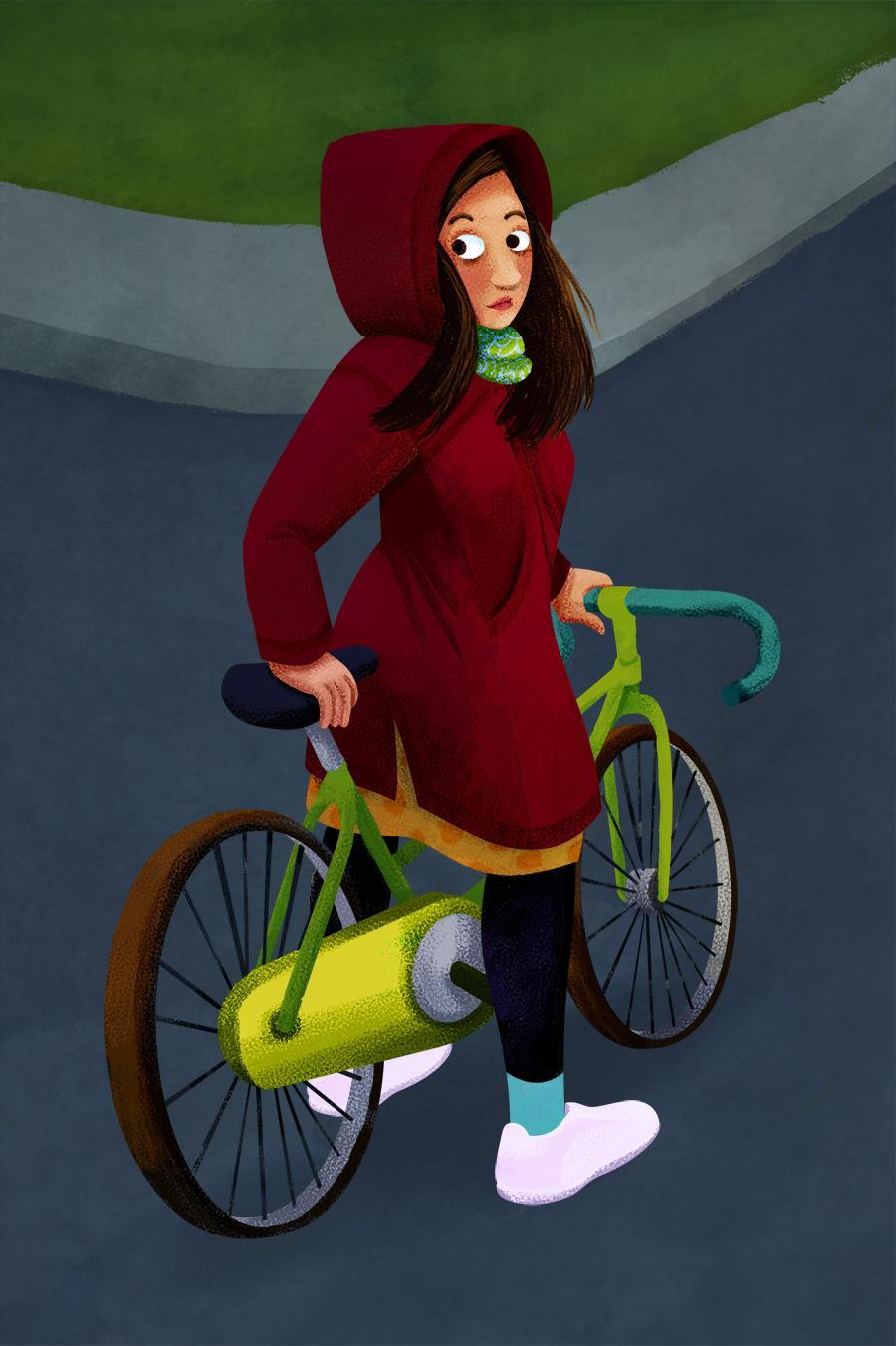 Bike Girl - image 6 - student project