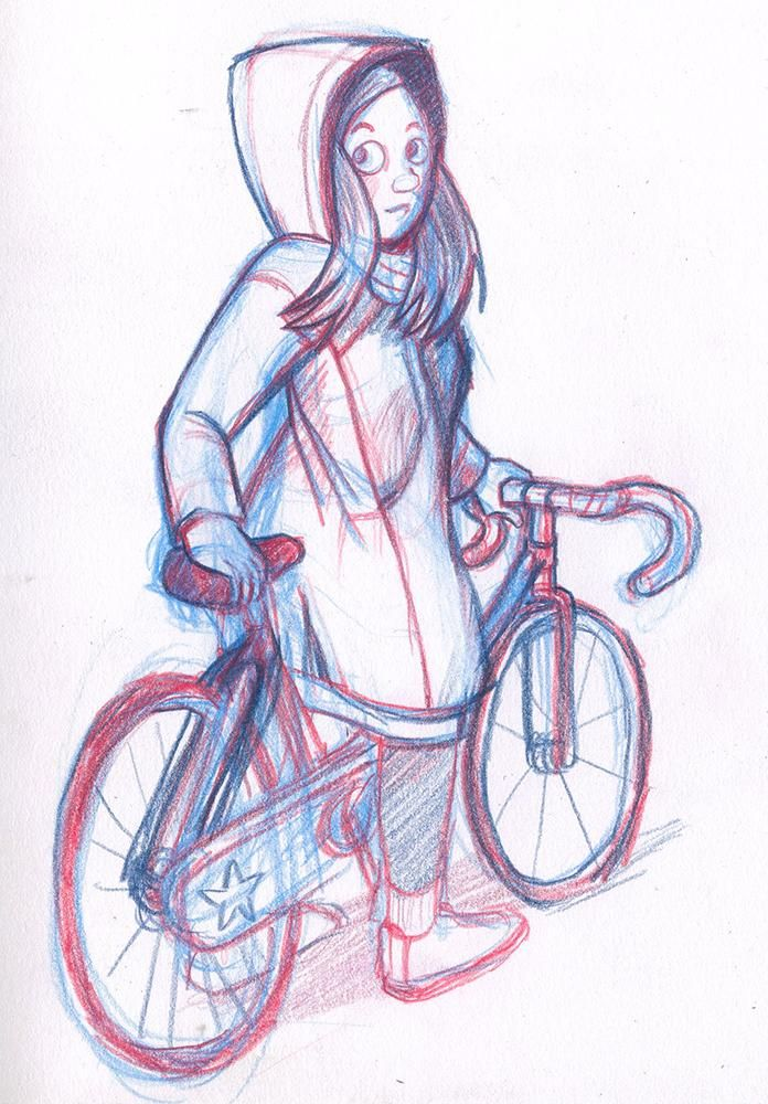 Bike Girl - image 1 - student project