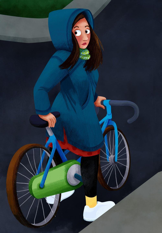 Bike Girl - image 4 - student project
