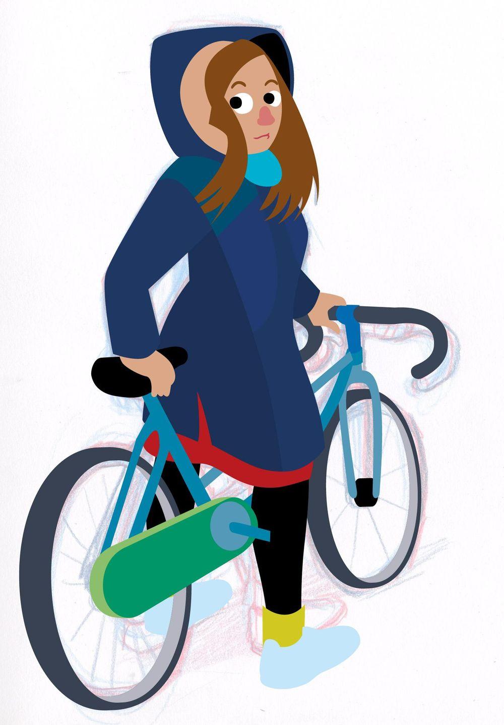 Bike Girl - image 2 - student project