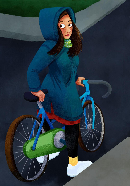 Bike Girl - image 5 - student project