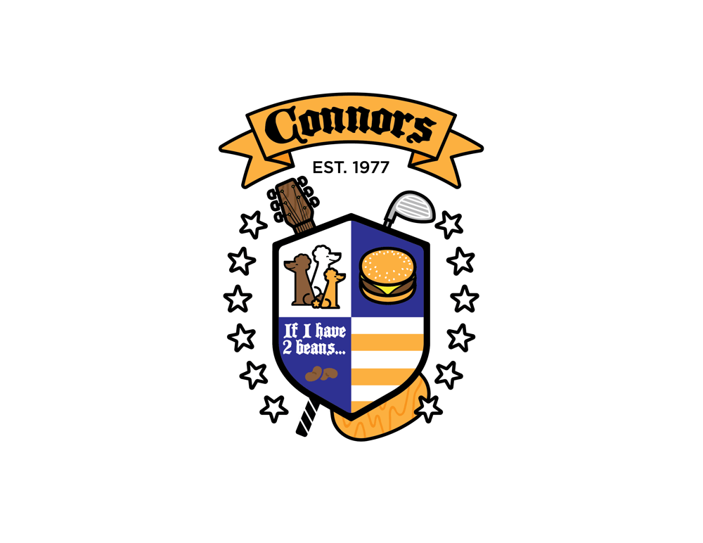 Connors Family Crest - image 1 - student project