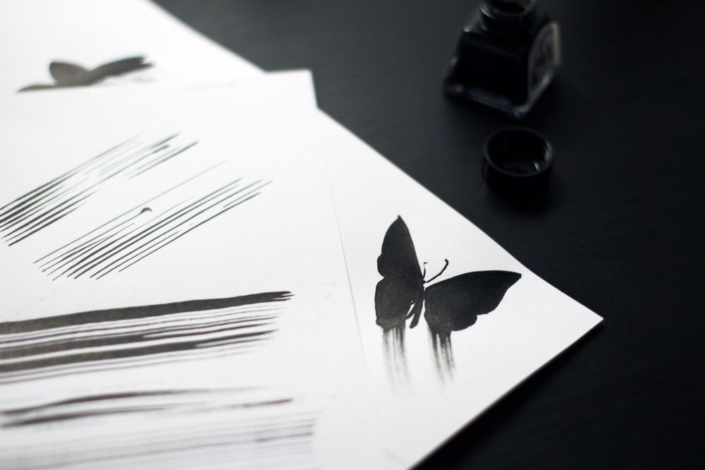 Windy butterflies or Angel's music - image 1 - student project