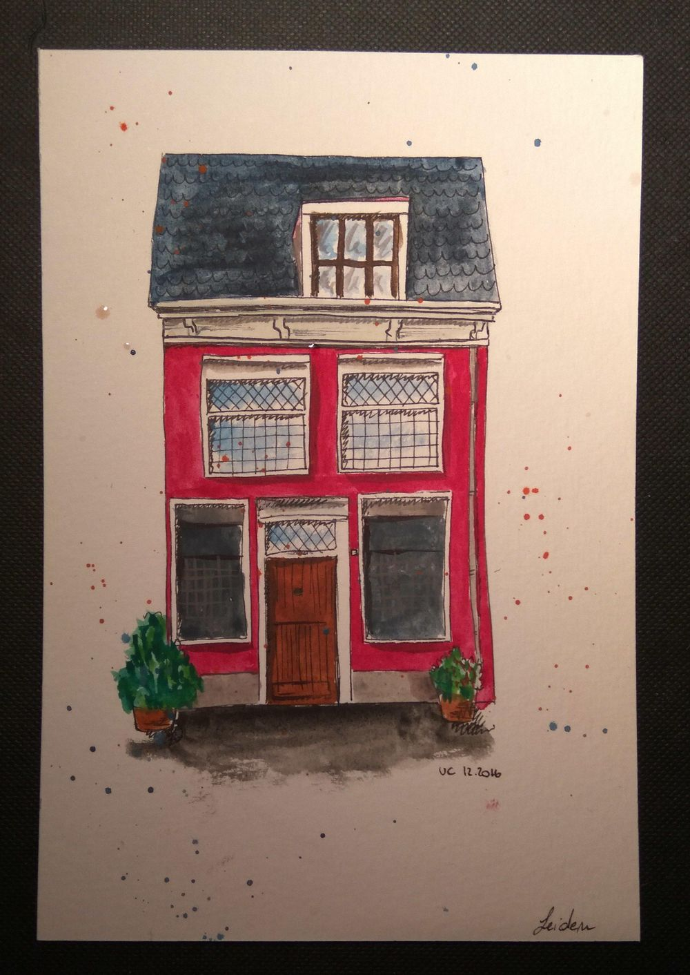 Leiden Sketch - image 1 - student project