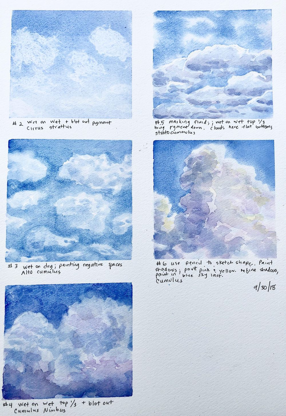 Clouds, clouds and more clouds! - image 1 - student project