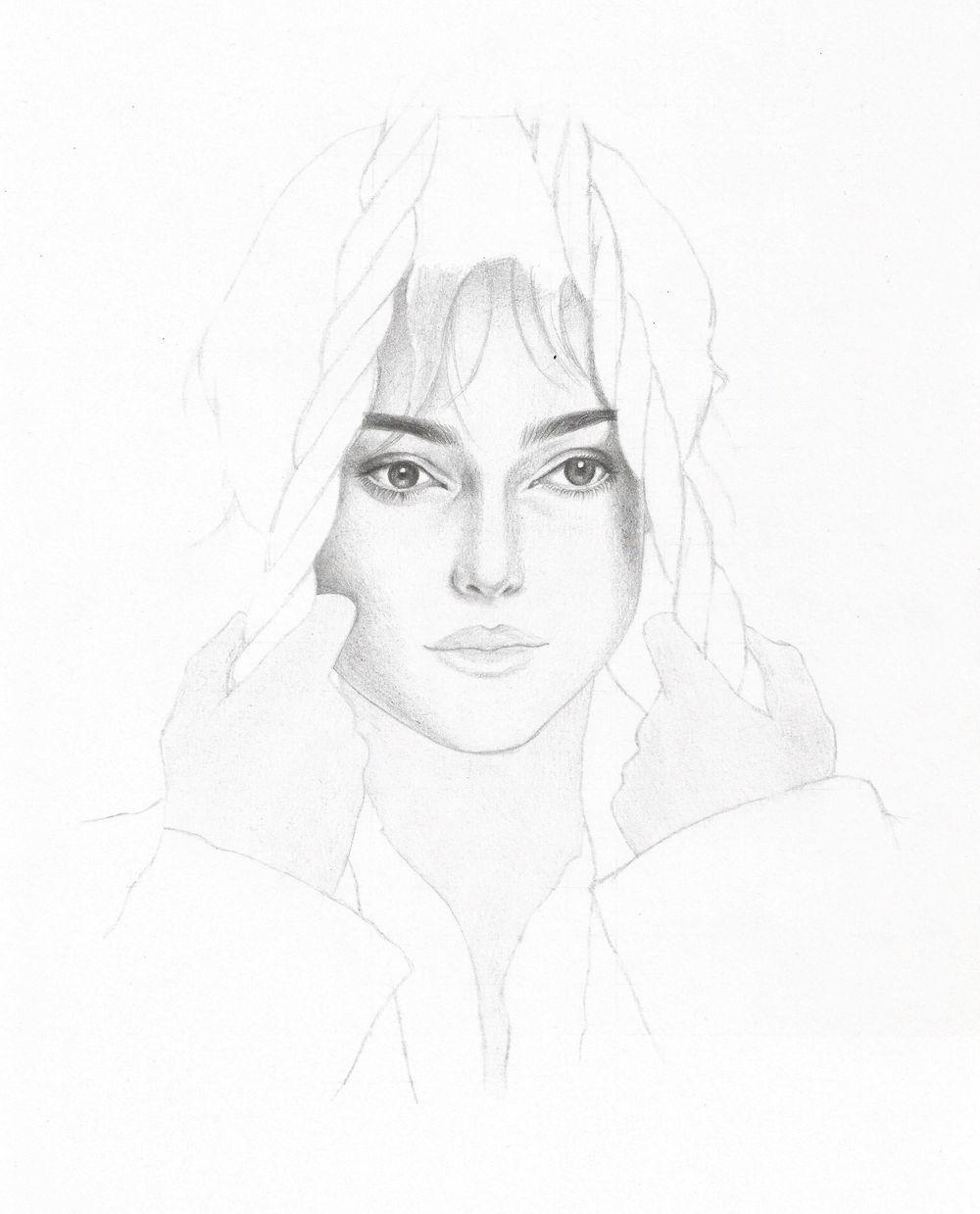 Portrait: Keira Knightley as Elizabeth Bennet - image 3 - student project