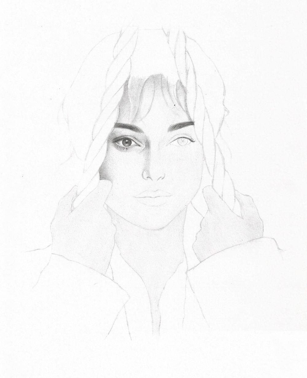 Portrait: Keira Knightley as Elizabeth Bennet - image 2 - student project