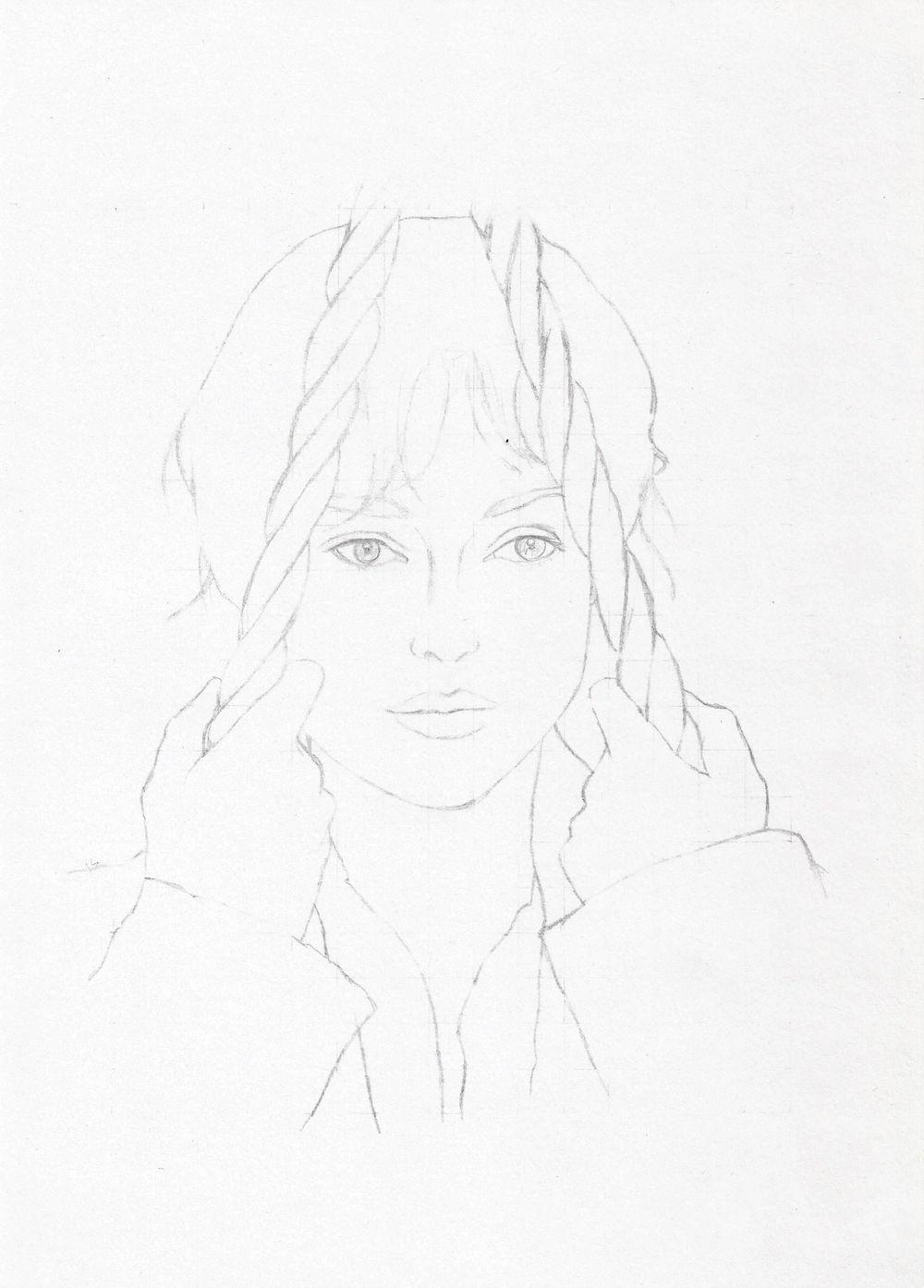 Portrait: Keira Knightley as Elizabeth Bennet - image 1 - student project