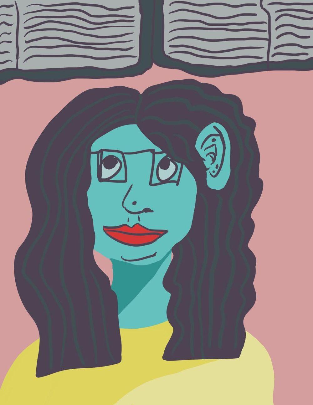 Final Self Portrait - image 1 - student project
