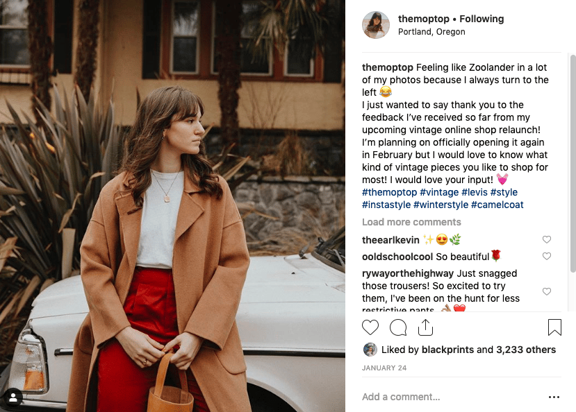The Moptop Instagram Inspo - image 1 - student project