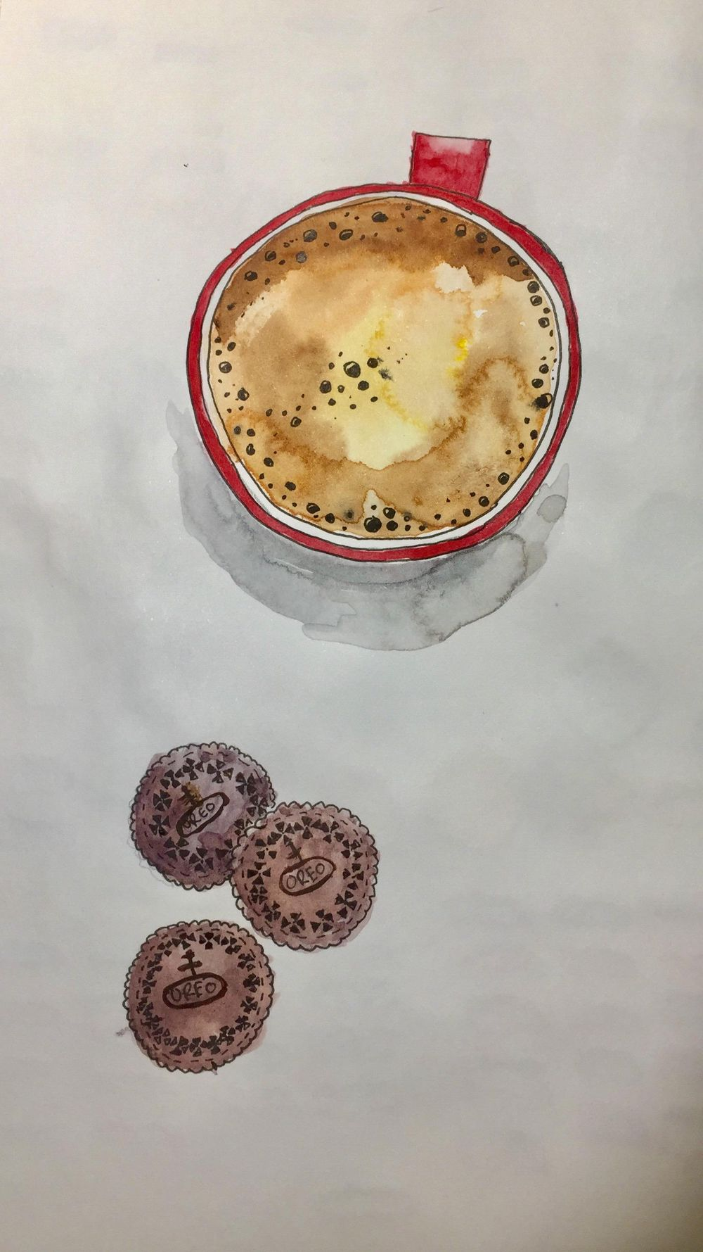 Coffe with Oreos - image 1 - student project