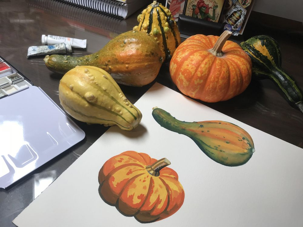 Squad gourds - image 2 - student project