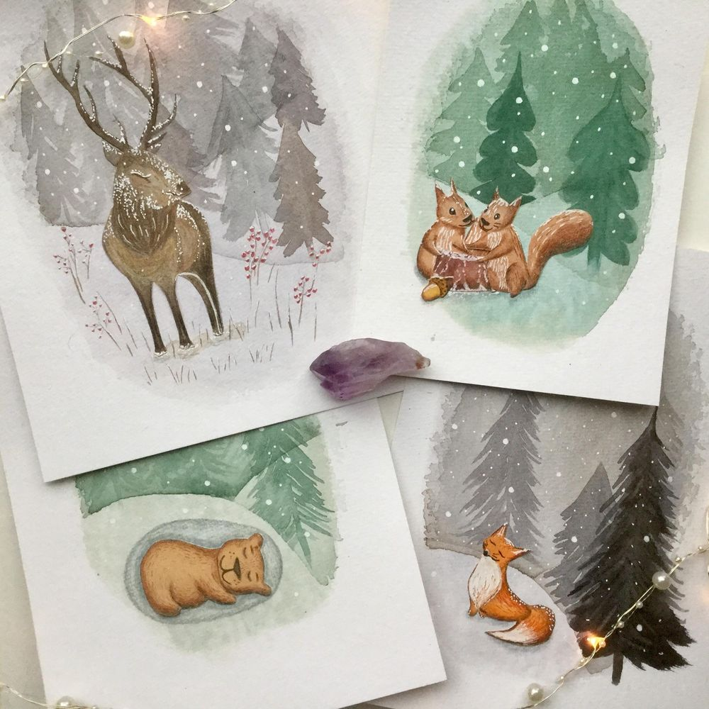 Animals and winter - image 5 - student project