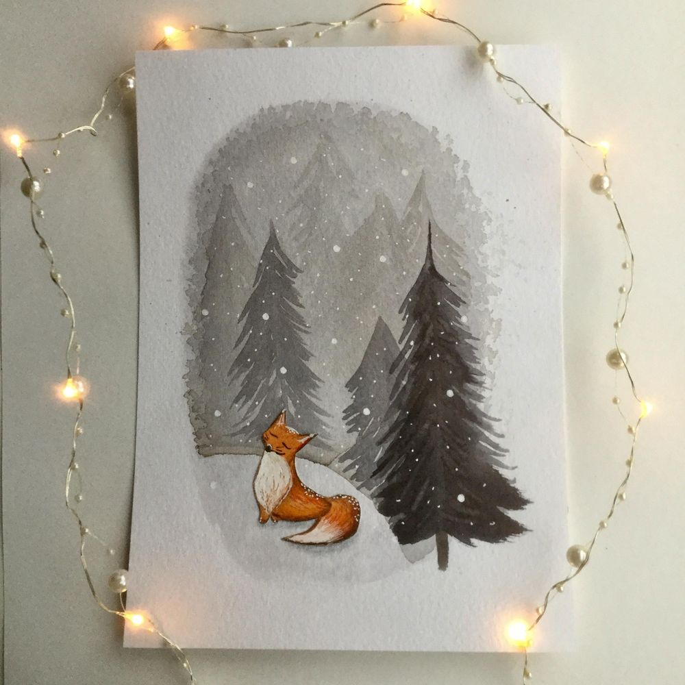 Animals and winter - image 4 - student project