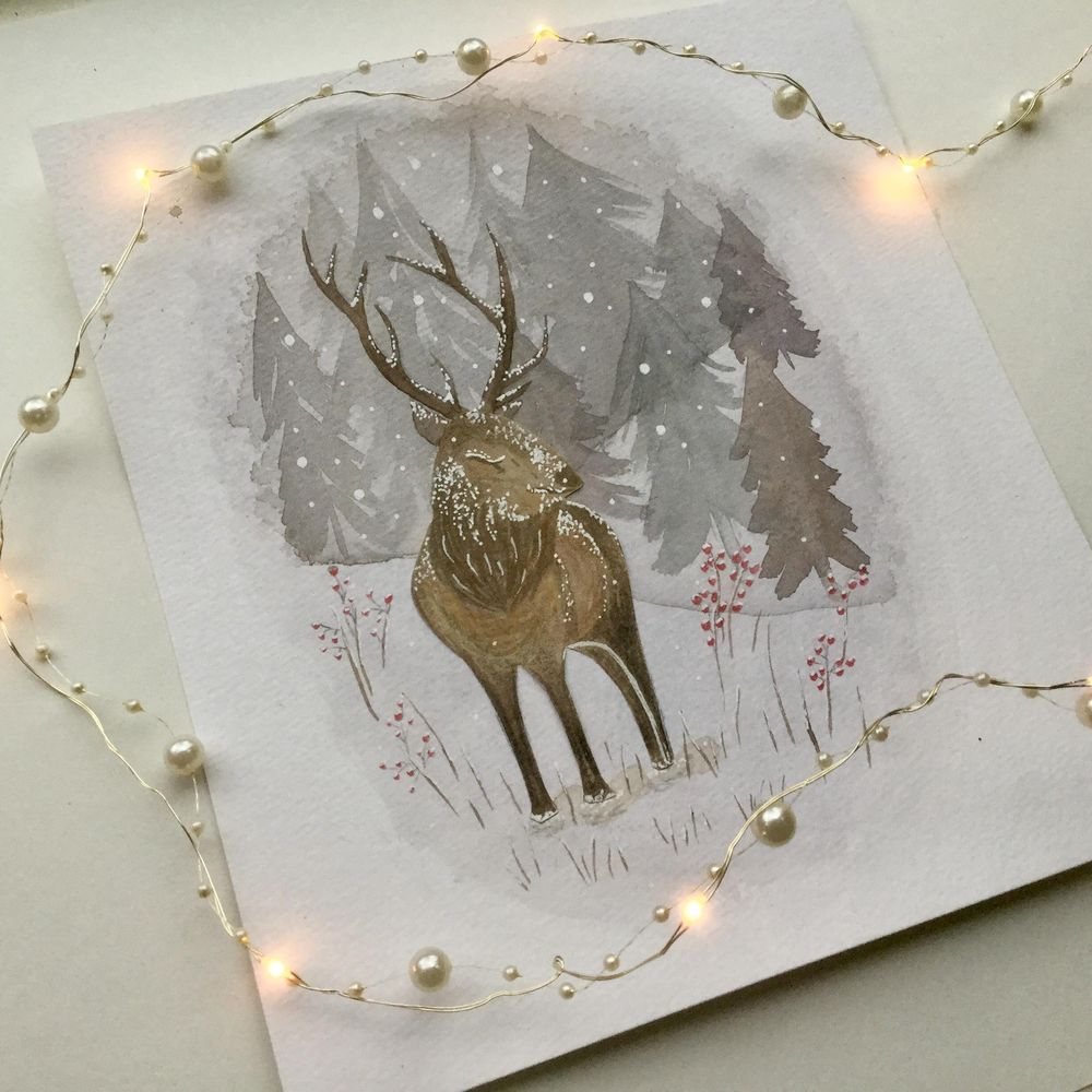 Animals and winter - image 2 - student project