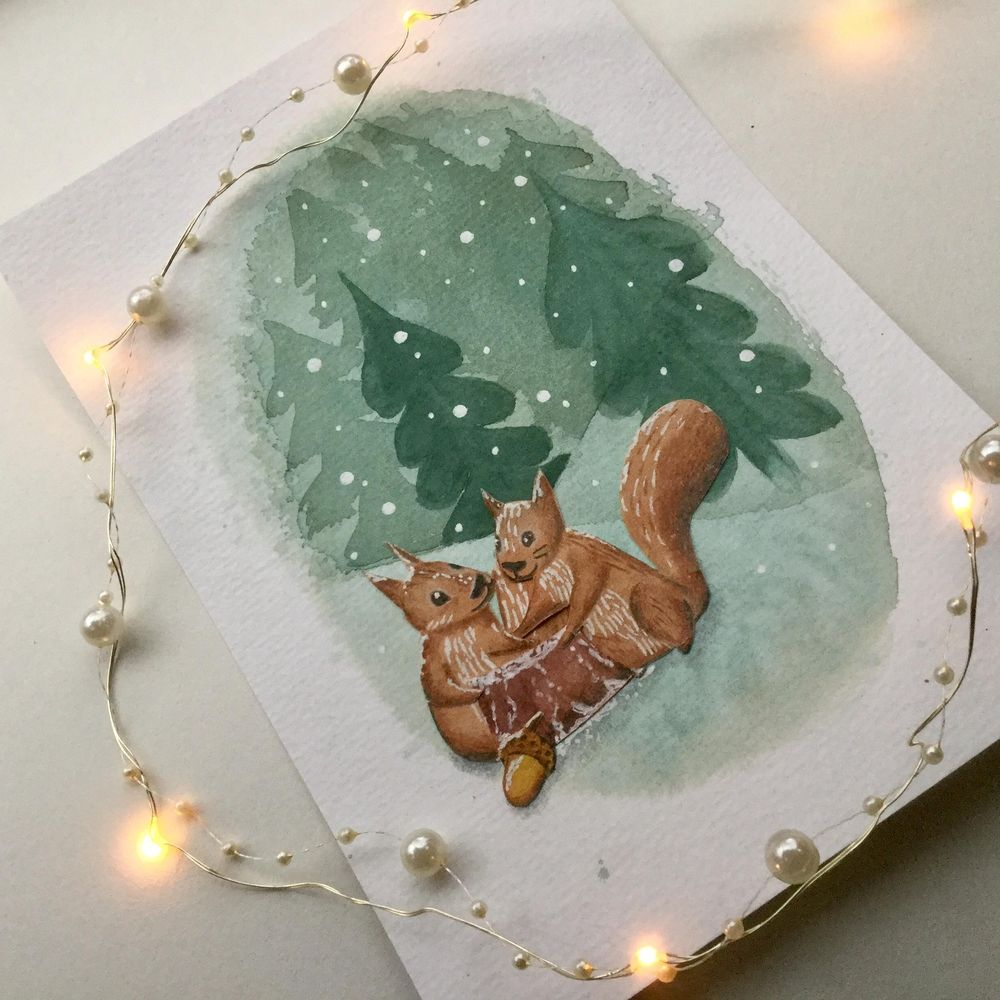 Animals and winter - image 1 - student project