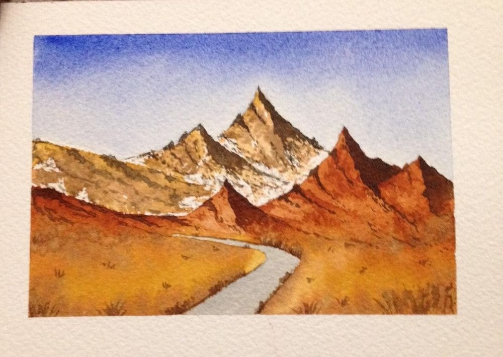 Watercolor Masterclass Landscapes - image 4 - student project